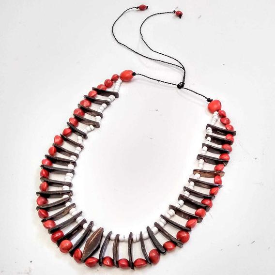 Colar Boa Energia Amuleto Indígena Umbanda Xamânico 3