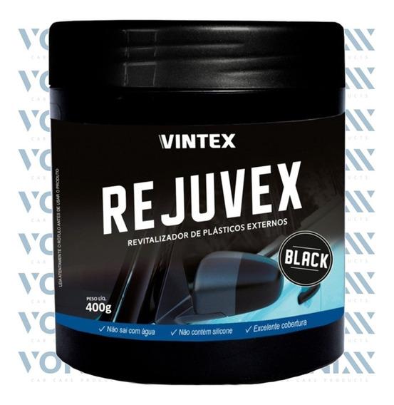 Revitalizador De Plásticos Externos Rejuvex Black (400g)