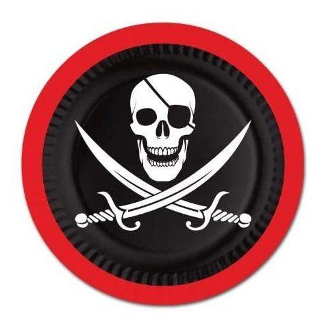 Imagen 1 de 2 de Placas Pirata 8  Pkg