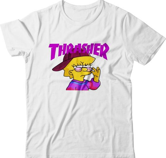 Camisetas Masculina Lisa Swag Feminina Simpson Tumblr Geek