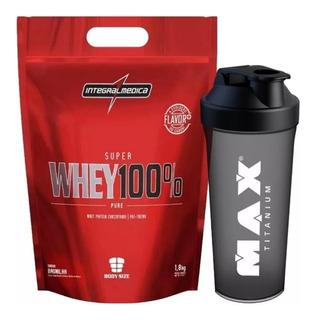 Super Whey 100% Pure Refil 900g - Integral Médica