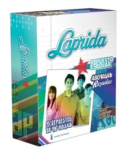 Pack Repuesto Escolar Nº 3 Laprida 480h Ray + 480h Cuadric