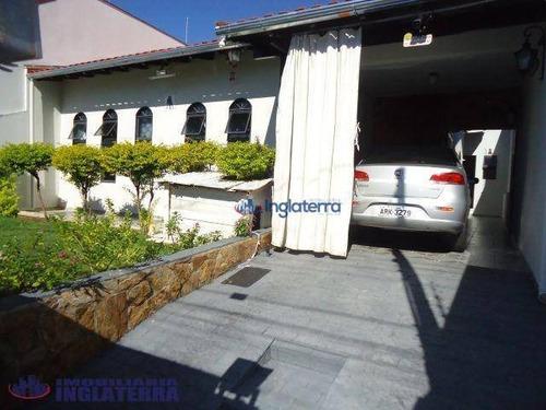 Casa À Venda, 127 M² Por R$ 310.000,00 - Jardim Piza - Londrina/pr - Ca0524