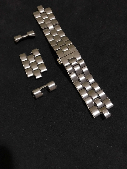 Pulseira Em Aço Montblanc P/ Relógio 44mm De Caixa Mont Blan