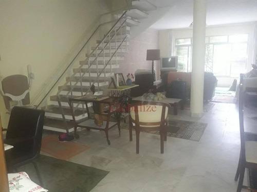 Sobrado Com 3 Dormitórios À Venda, 250 M² Por R$ 2.339.000,00 - Gonzaga - Santos/sp - So0001