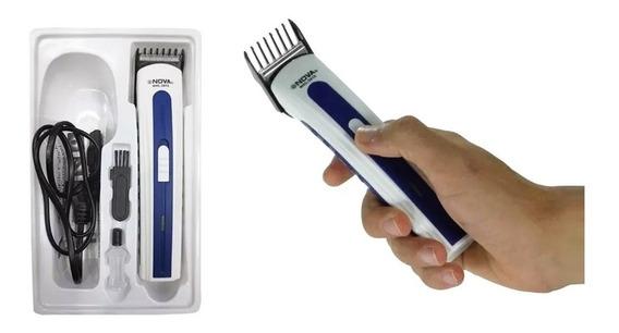 Máquina Aparador Pelos Corta Cabelo Barba Pezinho Bivolt Top