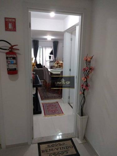 Apartamento Com 3 Dormitórios À Venda, 75 M² - Morumbi - São Paulo/sp - Ap38291