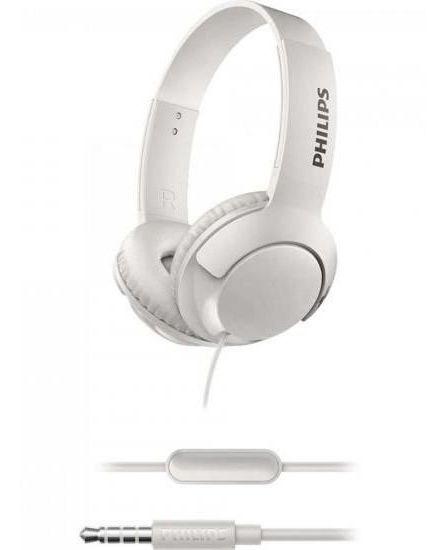 Fone De Ouvido Supra Auricular Shl 3075 Branco Philips