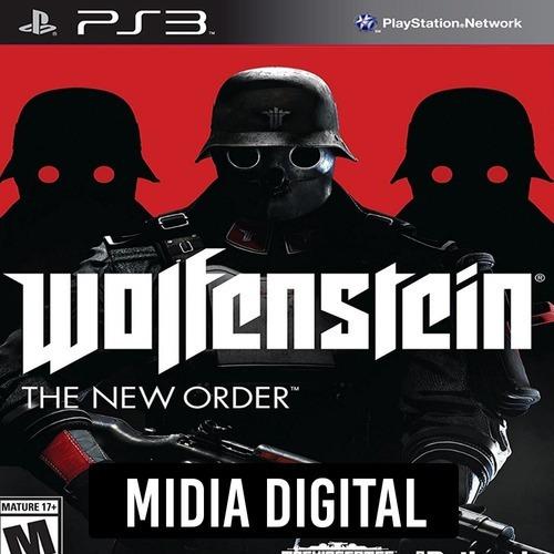 Wolfenstein The New Order - Ps3 Psn*