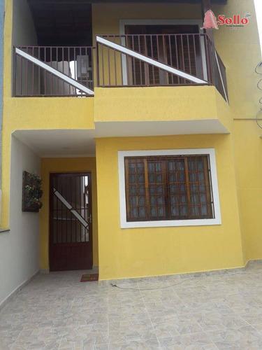 Sobrado Com 3 Dormitórios À Venda, 101 M² Por R$ 480.000,00 - Vila Silveira - Guarulhos/sp - So0240