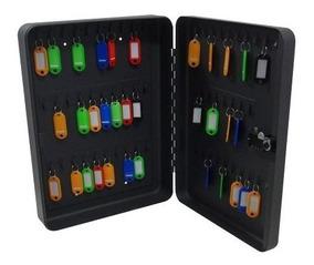 Caja Para 60 Llaves C/llavero Colores 37cm Combinacion Obi