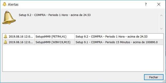 Robo Mt5 - Alerta Setups Mme9 - 9.1, 9.2 E 9.3