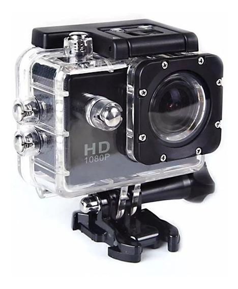 Mini Câmera Sports Hd 1080p Filmadora Carro Moto Capacete Motovlog Hd