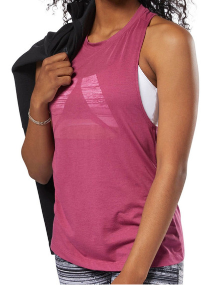 Musculosa Reebok Training One Series Burnout Mujer Ob