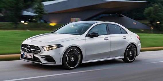 Mercedes-benz Clase A 200 Sport Sedan 2020 Rojo