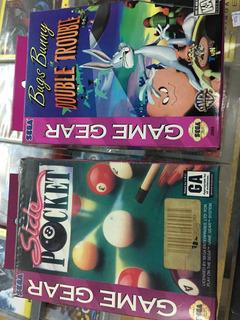 Cartuchos Game Gear Originales Sin Uso En Caja