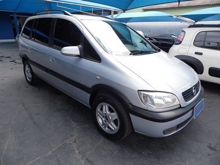 Chevrolet Zafira 2.0 Mpfi Cd 8v Gasolina 4p Manual
