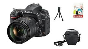 Nikon D750 + 24-120mm + 32gb + Bolsa + Tripé Garantia Sjuros