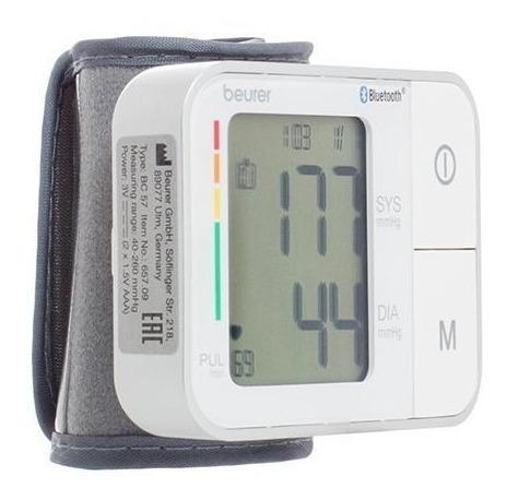 Baumanómetro Automatico De Muñeca Bluetooth - Bc57 - Beurer
