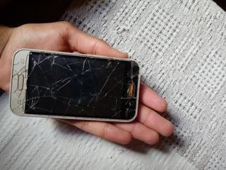 Samsung J1 Mini Tela Quebrada E Sem Bateria
