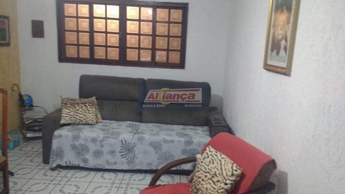 Sobrado Com 3 Dormitórios À Venda, 167 M² - Parque Continental Ii - Guarulhos/sp - Ai16319
