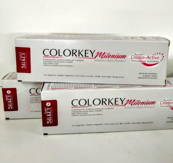 Silkey Tintura Colorkey Milenium 120g Profesional Promo