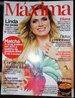 Revista Máxima Nº 54 Eliana Novembro 2014