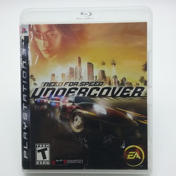 Need For Speed Undercover Ps3 Mídia Física Original Usado