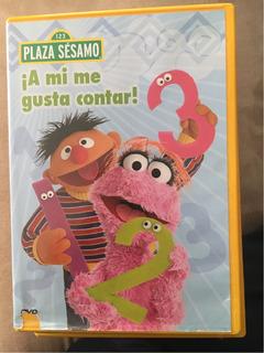 Dvd Plaza Sésamo Aprende A Contar