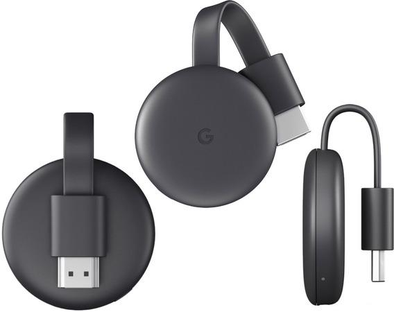 Google Chromecast 3º Geração Lançamento Pronta Entrega Novo