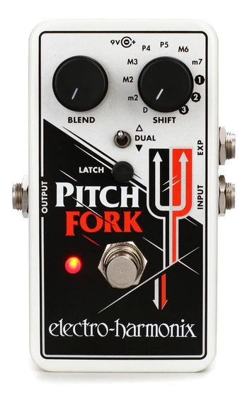 Pedal Ehx Pitch Fork - Pitch Shifter Harmony - Made In Usa