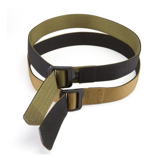 Cinturon Tactico Militar Deportivo Doble Cara Uso Rudo