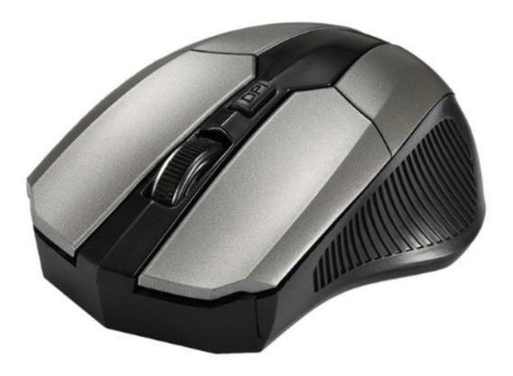 Mouse Óptico Sem Fio Wireless Com Receptor Usb 1600 Dpi
