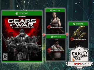 Xbox One Gears Of War Ultimate + Personajes + Skins Codigo