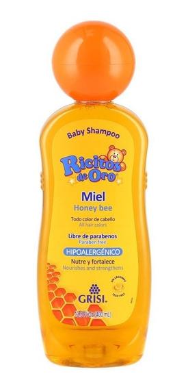 Shampoo Ricitos De Oro Miel Grisi 400 Ml