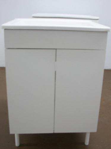 Mueble De Lavadero 58cm (bajo) Sin Mesada Amoblamientos Fl