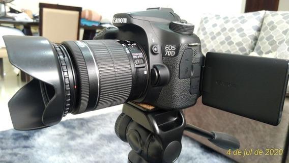 Kit Câmera Canon 70d