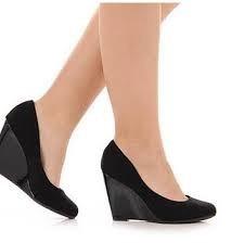 Sapato Anabela Bruna Rocha