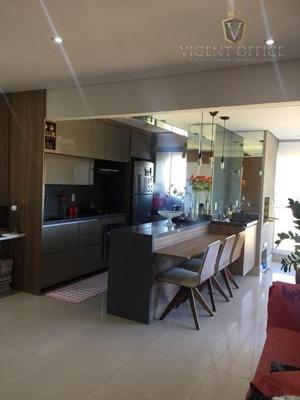 Maravilhoso Apartamento À Venda No Naturale Jundiaí, Excelente Acabamento, Varanda Gourmet Integrada, Andar Alto, Vista Livre! - Ap0577