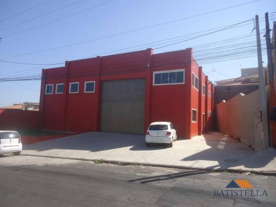 Barracão Comercial Para Locação, Jardim Canaã, Limeira. - Ba0043