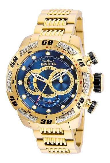 Relógio Invicta 25483 Masculino Ouro 18k Frete Gratis