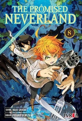 The Promised Neverland # 08 - Kaiu Shirai