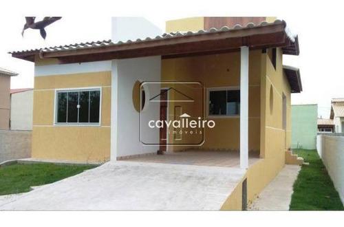 Casa Residencial À Venda, Inoã, Maricá - Ca1833. - Ca1833