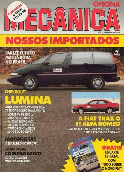 Oficina Mecânica Nº49 Chevrolet Lumina Apv Alfa 164 Saveiro