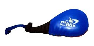 Palmeta Box Con Manija Artes Marciales Taekwondo Mma Kick