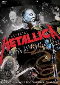 Dvd Metallica Orion Festival 2012 / Reading Festival Lacrado