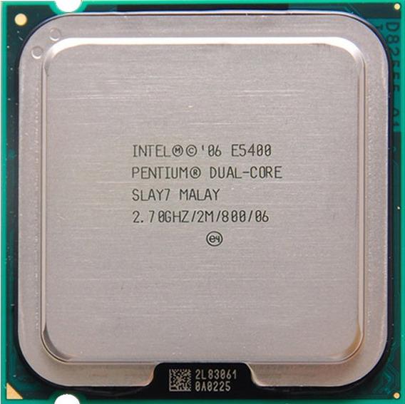 Processador Intel Pentium Dual Core E5400 2.70ghz/2m/800 ¨