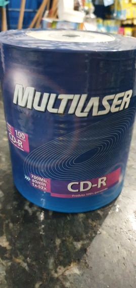 Cd R 100un Multilaser 80min