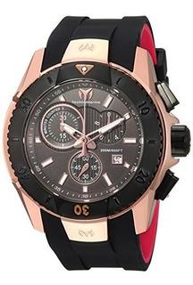 Reloj De Hombre De Cuarzo Oro Y Silicona Technomarine Uf6 Ca
