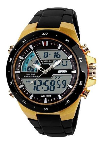 Relógio Unisex Esportivo Skmei 1016 A Prova D